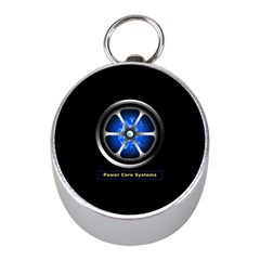 Power Core Mini Silver Compasses