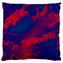 Sky Pattern Large Cushion Case (two Sides) by Valentinaart