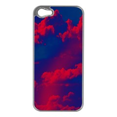 Sky Pattern Apple Iphone 5 Case (silver) by Valentinaart