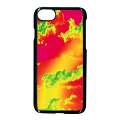Sky Pattern Apple Iphone 7 Seamless Case (black) by Valentinaart