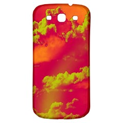 Sky Pattern Samsung Galaxy S3 S Iii Classic Hardshell Back Case by Valentinaart