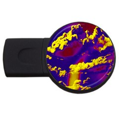 Sky Pattern Usb Flash Drive Round (2 Gb) by Valentinaart