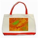 Sky pattern Classic Tote Bag (Red) Front