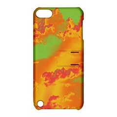 Sky Pattern Apple Ipod Touch 5 Hardshell Case With Stand