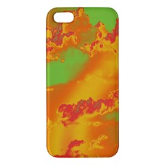 Sky Pattern Iphone 5s/ Se Premium Hardshell Case by Valentinaart