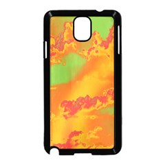 Sky Pattern Samsung Galaxy Note 3 Neo Hardshell Case (black) by Valentinaart