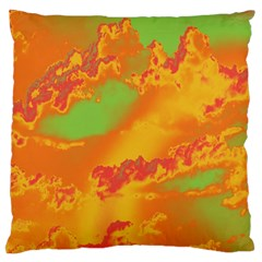Sky Pattern Large Flano Cushion Case (one Side) by Valentinaart