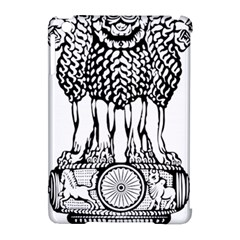 National Emblem Of India  Apple Ipad Mini Hardshell Case (compatible With Smart Cover) by abbeyz71