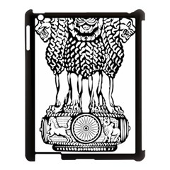 National Emblem Of India  Apple Ipad 3/4 Case (black) by abbeyz71