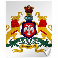 State Seal Of Karnataka Canvas 16  X 20   by abbeyz71