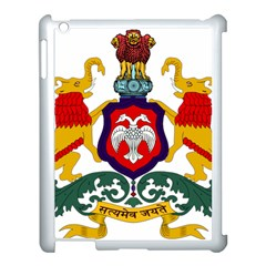 State Seal Of Karnataka Apple Ipad 3/4 Case (white) by abbeyz71