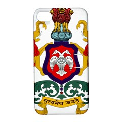 State Seal Of Karnataka Apple Iphone 4/4s Hardshell Case With Stand by abbeyz71