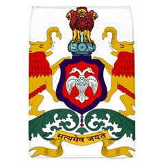 State Seal Of Karnataka Flap Covers (l)  by abbeyz71