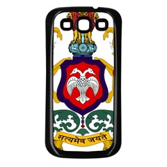 State Seal Of Karnataka Samsung Galaxy S3 Back Case (black) by abbeyz71