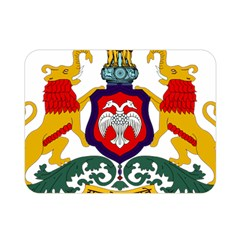 State Seal Of Karnataka Double Sided Flano Blanket (mini)  by abbeyz71