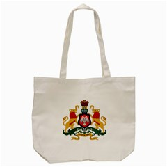State Seal Of Karnataka Tote Bag (cream) by abbeyz71