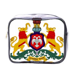 State Seal Of Karnataka Mini Toiletries Bags by abbeyz71