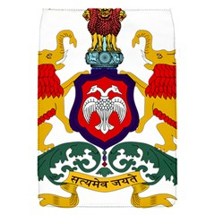 State Seal Of Karnataka Flap Covers (s)  by abbeyz71