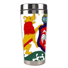 State Seal Of Karnataka Stainless Steel Travel Tumblers by abbeyz71