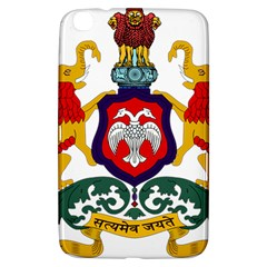 State Seal Of Karnataka Samsung Galaxy Tab 3 (8 ) T3100 Hardshell Case  by abbeyz71