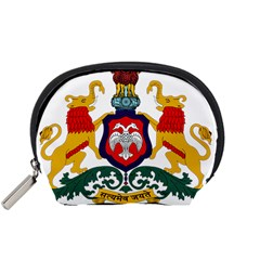 State Seal Of Karnataka Accessory Pouches (small)  by abbeyz71