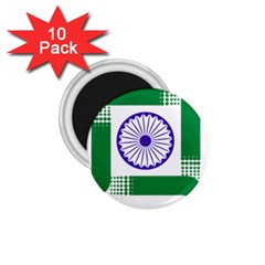 Seal Of Indian State Of Jharkhand 1 75  Magnets (10 Pack)  by abbeyz71