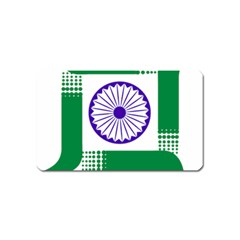 Seal Of Indian State Of Jharkhand Magnet (name Card) by abbeyz71