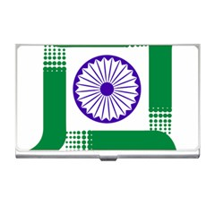 Seal Of Indian State Of Jharkhand Business Card Holders by abbeyz71