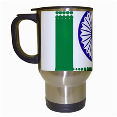 Seal Of Indian State Of Jharkhand Travel Mugs (white) by abbeyz71