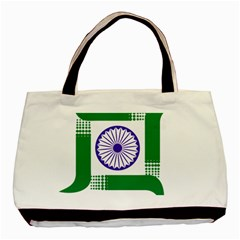 Seal Of Indian State Of Jharkhand Basic Tote Bag (two Sides) by abbeyz71