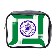 Seal Of Indian State Of Jharkhand Mini Toiletries Bag 2 Side by abbeyz71