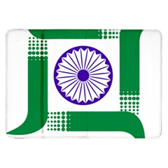 Seal Of Indian State Of Jharkhand Samsung Galaxy Tab 8 9  P7300 Flip Case by abbeyz71