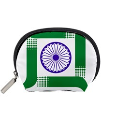 Seal Of Indian State Of Jharkhand Accessory Pouches (small)  by abbeyz71