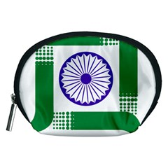 Seal Of Indian State Of Jharkhand Accessory Pouches (medium)  by abbeyz71