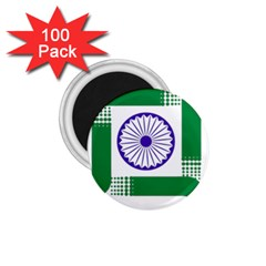 Seal Of Indian State Of Jharkhand 1 75  Magnets (100 Pack)  by abbeyz71