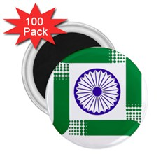 Seal Of Indian State Of Jharkhand 2 25  Magnets (100 Pack)  by abbeyz71