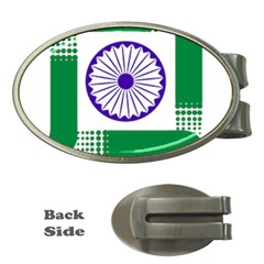 Seal Of Indian State Of Jharkhand Money Clips (oval)  by abbeyz71