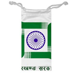Seal Of Indian State Of Jharkhand Jewelry Bag by abbeyz71