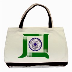 Seal Of Indian State Of Jharkhand Basic Tote Bag by abbeyz71