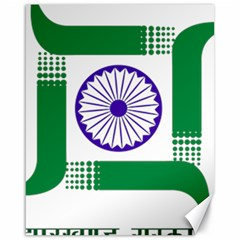 Seal Of Indian State Of Jharkhand Canvas 16  X 20   by abbeyz71