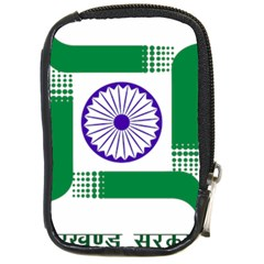 Seal Of Indian State Of Jharkhand Compact Camera Cases by abbeyz71