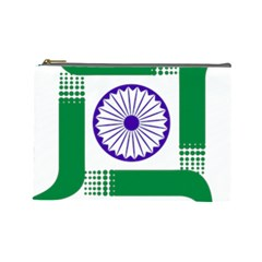 Seal Of Indian State Of Jharkhand Cosmetic Bag (large)  by abbeyz71