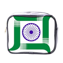 Seal Of Indian State Of Jharkhand Mini Toiletries Bags by abbeyz71