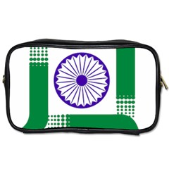 Seal Of Indian State Of Jharkhand Toiletries Bags by abbeyz71