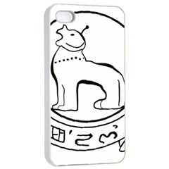 Seal Of Indian State Of Manipur Apple Iphone 4/4s Seamless Case (white) by abbeyz71