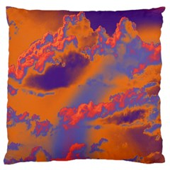 Sky Pattern Large Flano Cushion Case (two Sides) by Valentinaart
