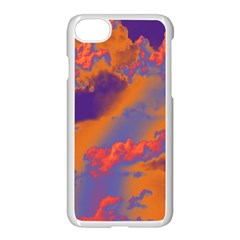 Sky Pattern Apple Iphone 7 Seamless Case (white)