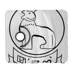 Seal Of Indian State Of Manipur  Galaxy S3 (flip/folio) by abbeyz71