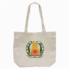 Seal Of Indian State Of Tamil Nadu  Tote Bag (cream) by abbeyz71