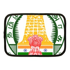 Seal Of Indian State Of Tamil Nadu  Netbook Case (medium)  by abbeyz71